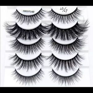 Brand new✨10 pack of Mink Eyelashes (mixed styles)